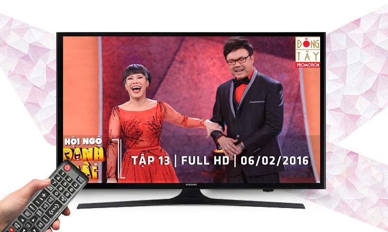 Tivi UA40J5000, tích hợp bộ thu truyền hình kỹ thuật số DVB-T2
