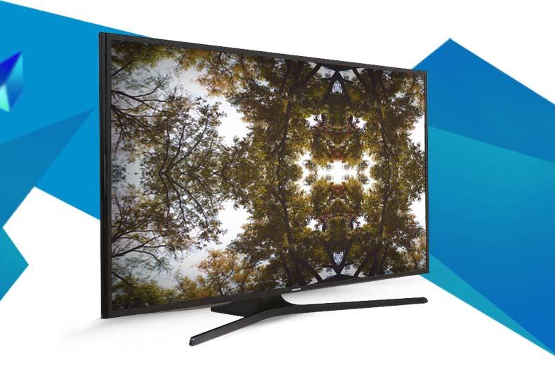 Tivi Samsung 48J5000 chân đế chắc chắn tạo nên nét nổi bật cho không gian đặt