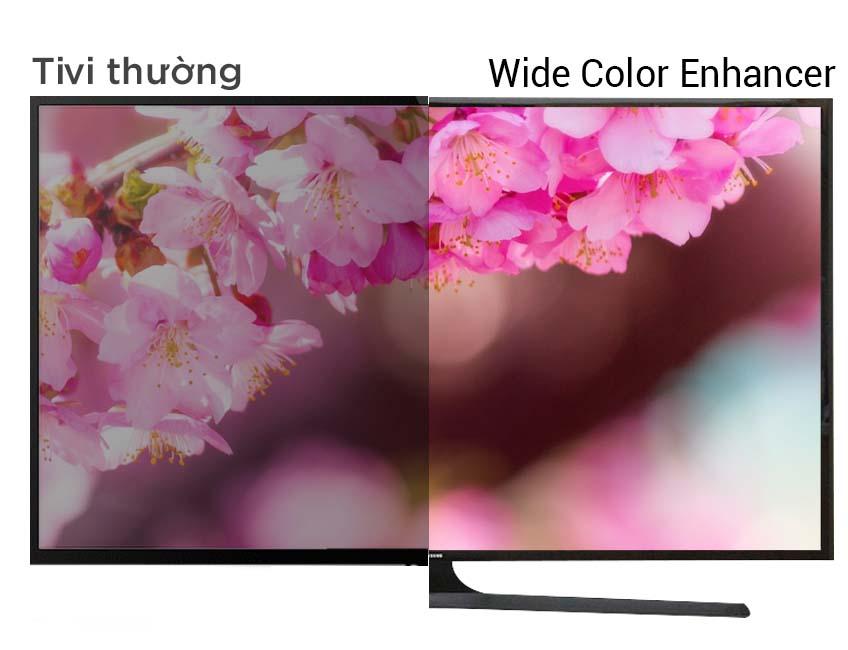 Hình ảnh Full HD rực rỡ hơn, chân thực hơn trên tivi Samsung 48J5000