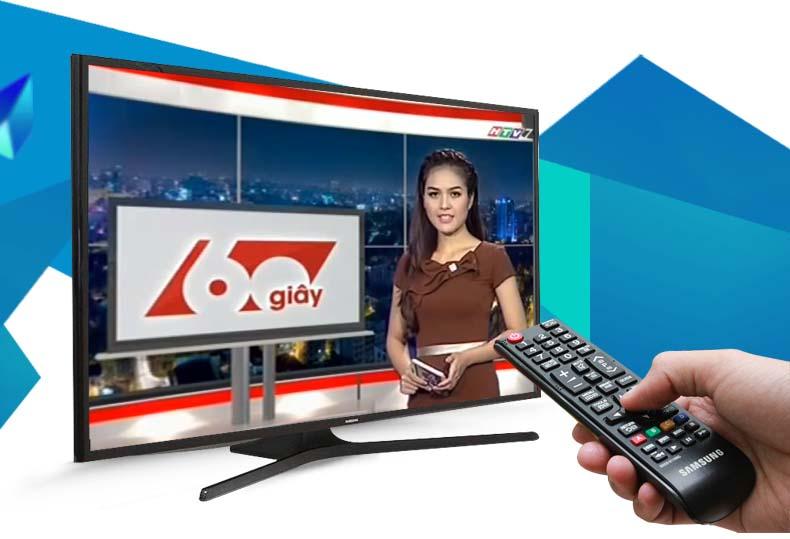 Đầu thu DVB-T2 tích hợp sẵn trên tivi Samsung 48J5000