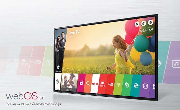 WEBOS 3.0 TIVI LG 43UH617T - KHÔNG GIAN GIẢI TRÍ