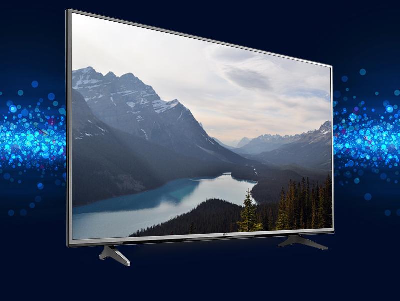 Tivi LG 55UH617T - Nổi bật với thiết kế kim loại màu bạc sang trọng, tinh tế