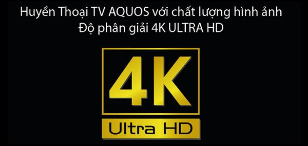 Tivi 4K SHARP LC-58UA330X 58 inch - Với chất lượng hình ảnh vượt trội