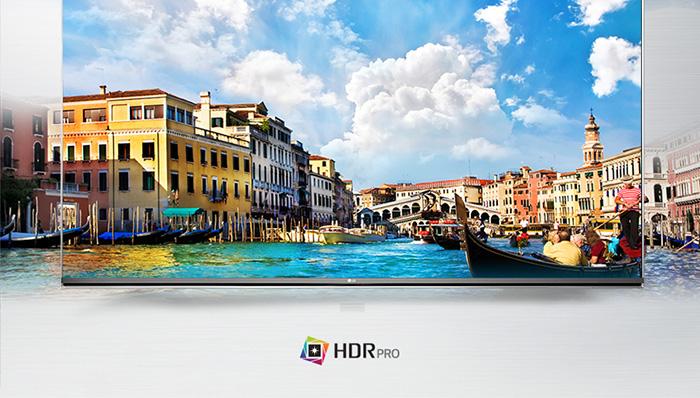 Công nghệ HDR Pro trên Tivi LG 49UH617T