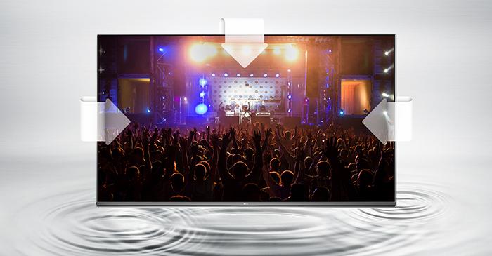 Tivi LG 55UH650T - Âm thanh vòm đa kênh Ultra Surround