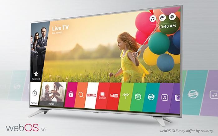 Tivi LG 55UH650T - Hệ điều hành WebOS 3.0