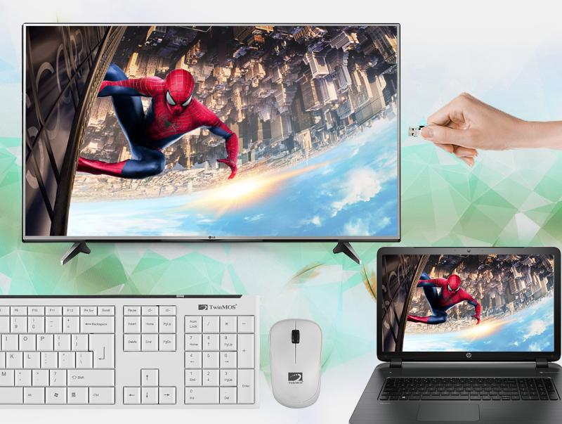 Kết nối tivi LG 60UH617T với USB, dàn máy, đầu đĩa, laptop, bàn phím, chuột,...