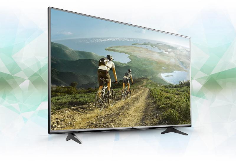 Tivi LG 60 inch 60UH617T Thiết kế sắc sảo và tinh tế trong từng đường nét