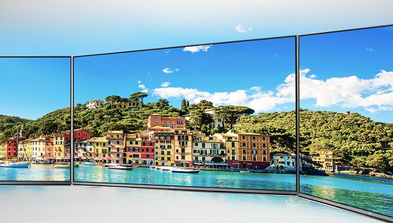 Màn hình tivi LG 65UH617T sáng, đẹp, độ bền cao và góc nhìn rộng với tấm nền IPS