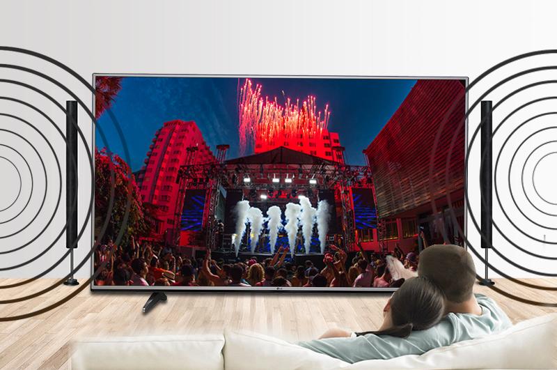 Smart Tivi LG 65 inch 65UH617T- Âm thanh đa chiều sống động đến hoàn hảo của công nghệ Dolby Digital Plus