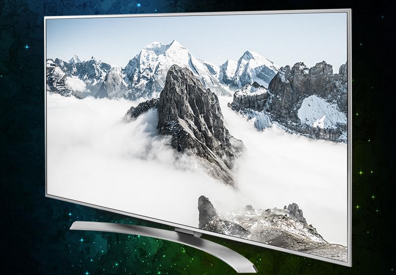 Smart Tivi LG 65 inch 65UH770T đẳng cấp với tông màu bạc sang trọng