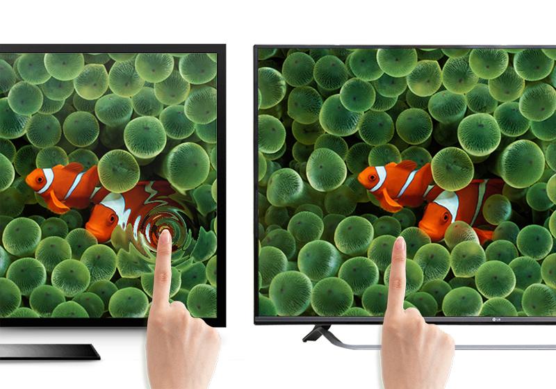 Tivi LG 70UF770T khả năng hiển thị sắc nét với màn hình IPS bền bỉ