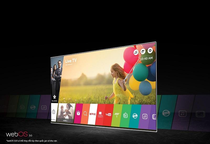 Nghe nhạc, đọc báo, xem phim... trên tivi OLED LG 65B6T