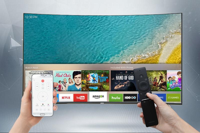 Điều khiển tivi bằng điện thoại với ứng dụng Samsung Smart View