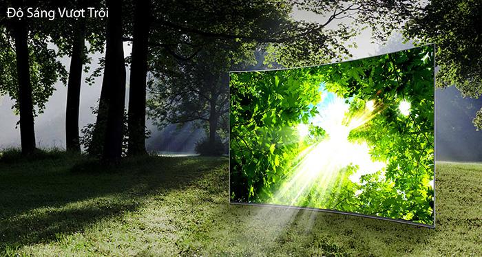 HDR 1000 nits - Tivi Samsung 65KS9000 Mang tới độ sáng và màu đen tối ưuu
