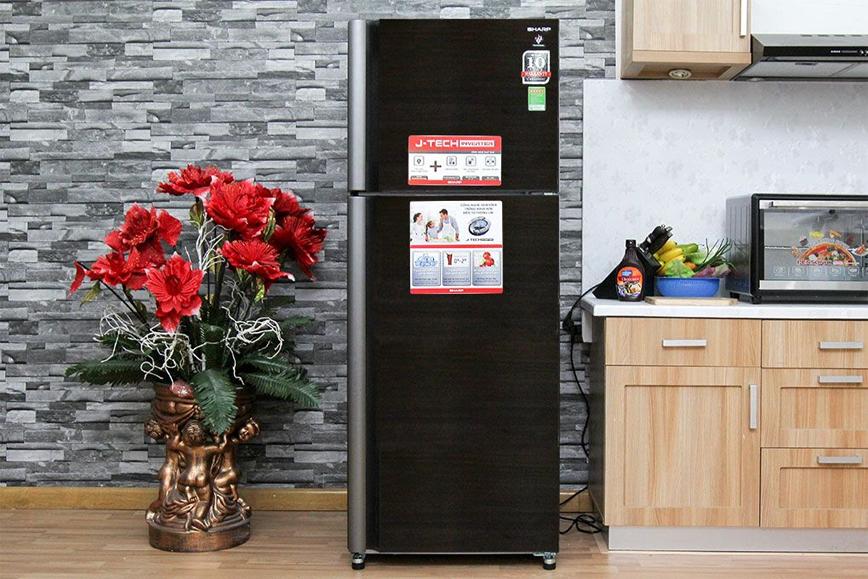 Thiết kế hoàn hảo với Tủ lạnh Sharp SJ-XP430PG-BK