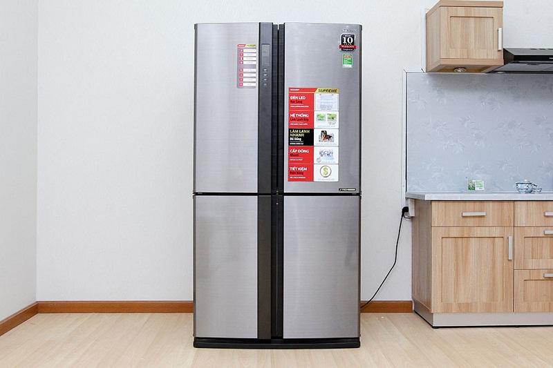 Tủ lạnh Sharp 626 lít SJ-FX630V-ST - Ứng dụng công nghệ J-Tech Inverter hiện đại nhất hiện nay
