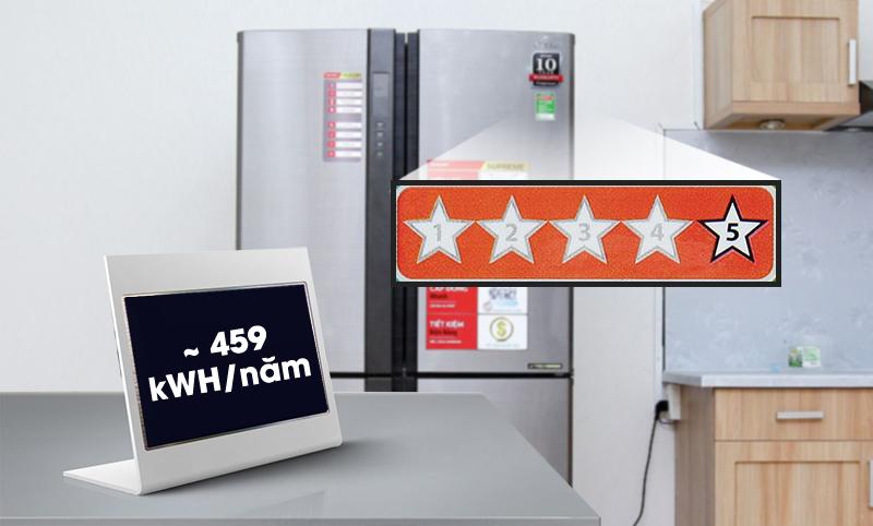 """Nhãn năng lượng 5 sao, tiết kiệm điện cực """"ấn tượng"""""""