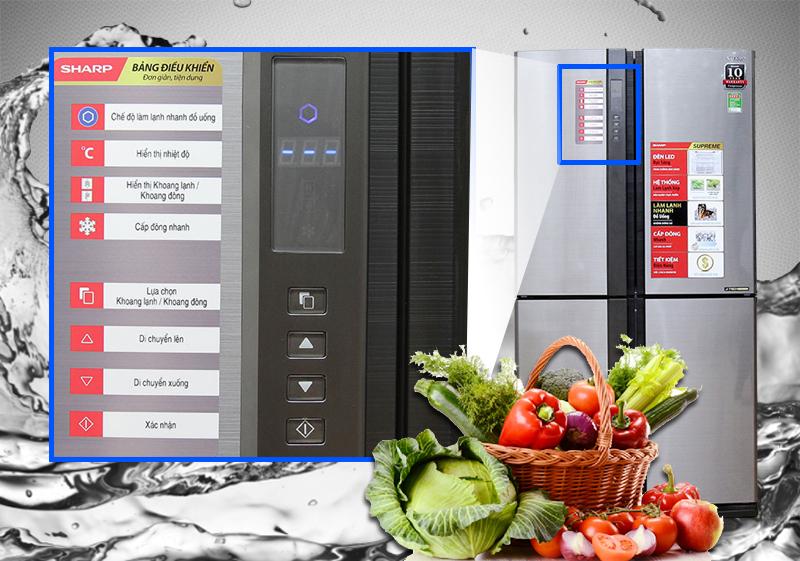 Những tiện ích bất ngờ không một loại tủ lạnh nào sánh được