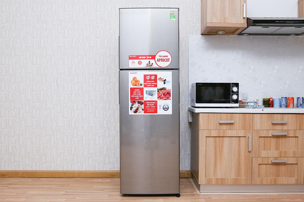 Tủ lạnh Sharp SJ-S280E-SL – Sự lựa chọn tuyệt vời cho mọi gia đình