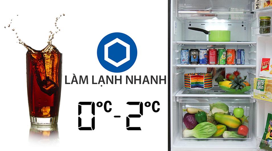 Giữ lạnh đồ uống ở nhiệt độ lý tưởng