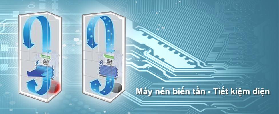 Tiết kiệm điện năng hiệu quả với công nghệ tiết kiệm Inverter
