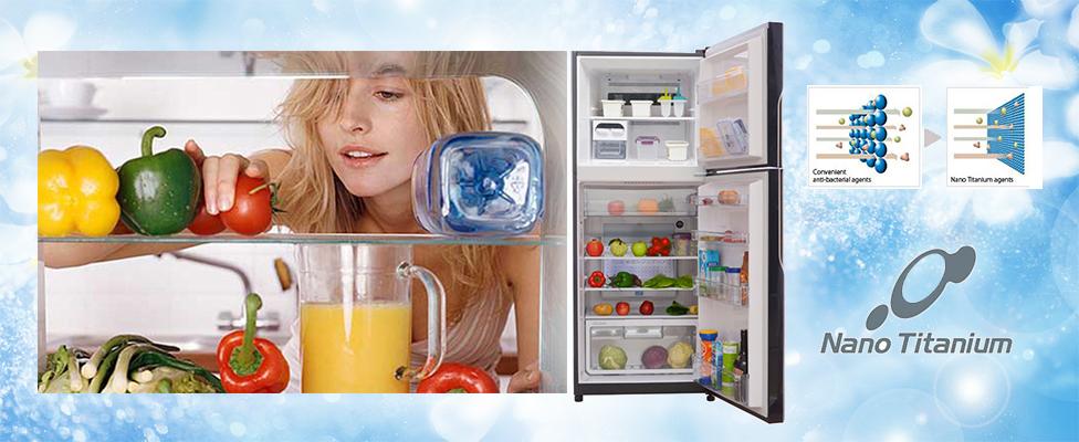 Công nghệ khử mùi kháng khuẩn Nano Titanium giúp khử mùi hiệu quả