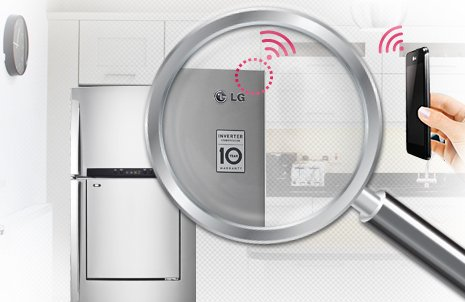 Tính năng chuẩn đoán thông minh của tủ lạnh LG inverter 490 lít GR-L702