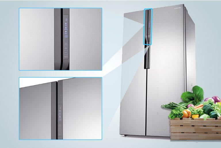 Trang bị 9 cảm biến xung quanh tủ lạnh RS55NR