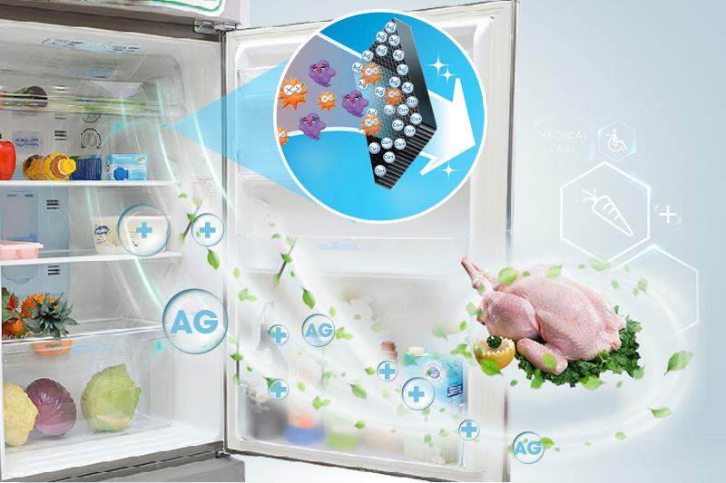 Sử dụng công nghệ độc quyền hiện đại PCI và các phân tử Bạc Nano Ag+ giúp diệt khuẩn và khử mùi hiệu quả
