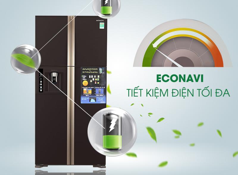 Tiết kiệm điện năng tối đa với R-W660FPGV3X GBW 540 lít