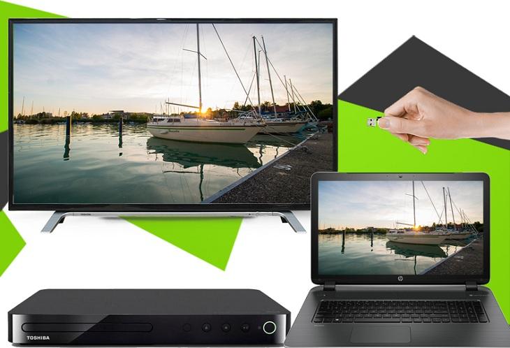 Tivi LG Full HD 43LH511T- Kết nối đa dạng, phong phú