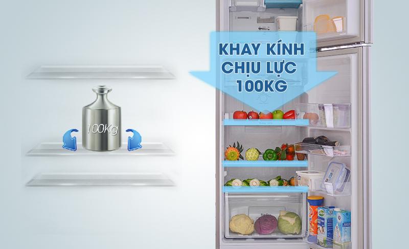 Khay chứa linh hoạt, mạnh mẽ với tủ lạnh RT25FARBDSA