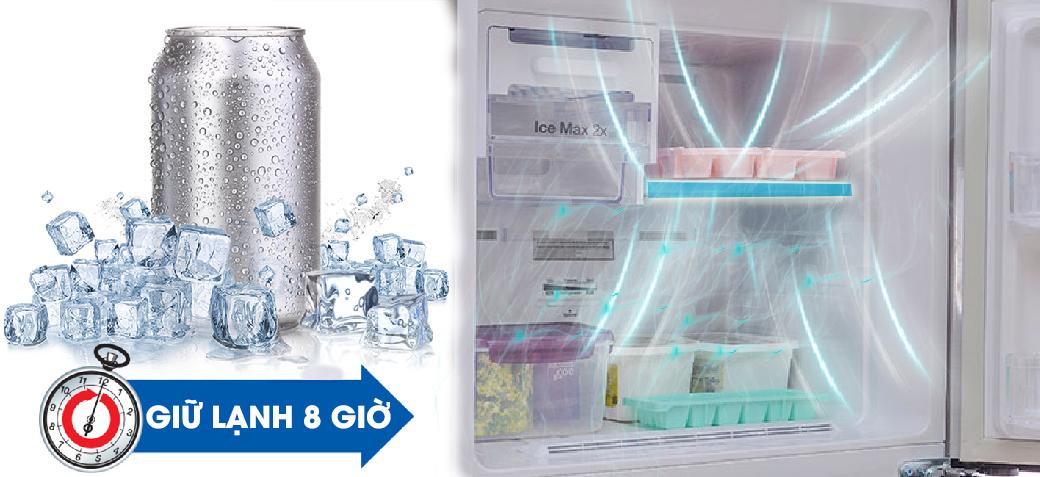 Không lo mất điện với tủ lạnh Inverter RT25FARBDSA