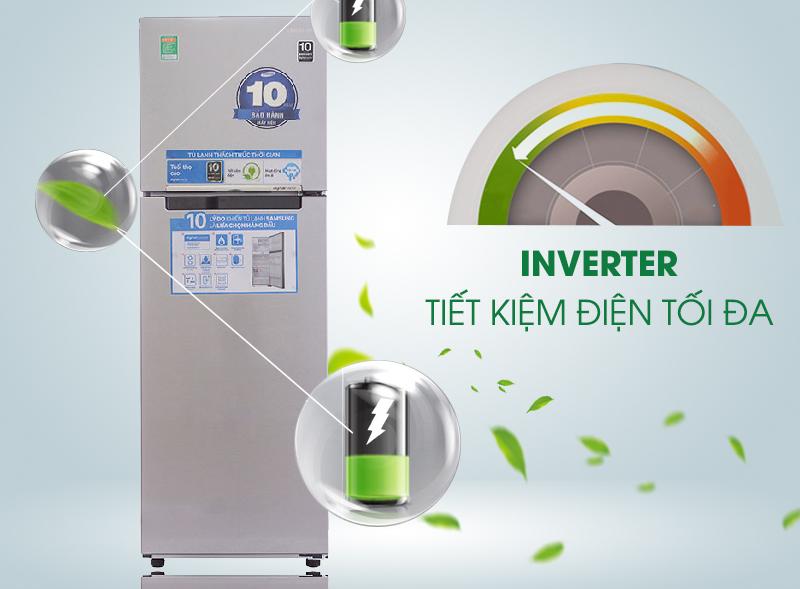 Tích hợp công nghệ tiết kiệm Inverter hiện đại