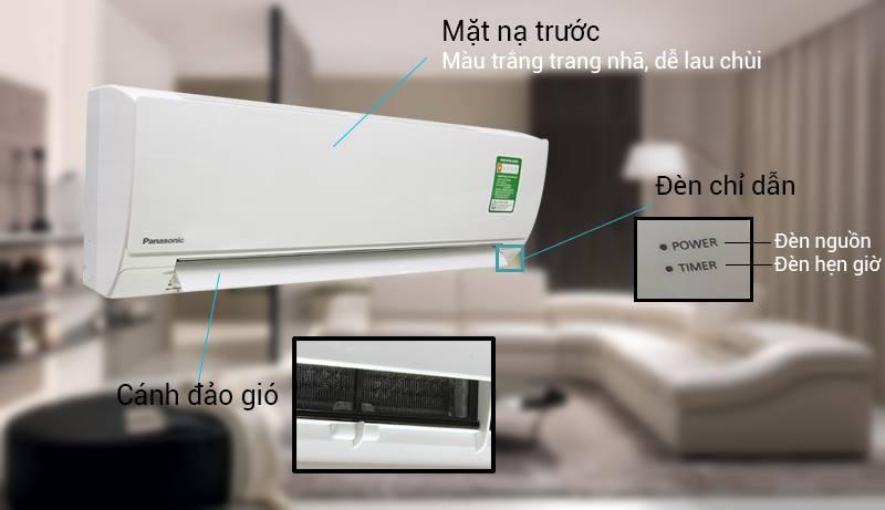 Điều hòa Panasonic CU/CS-N24SKH-8 làm lạnh hiệu quả