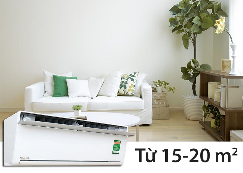 Điều hòa Panasonic VU12SKH 12.000 BTU có công suất 1.5 HP