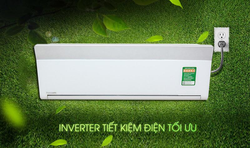 Điều hòa Panasonic VU12SKH 12.000 BTU tiết kiệm điện tối ưu nhờ công nghệ biến tần Inverter