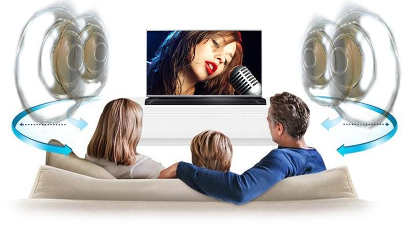 Cung cấp âm thanh đa chiều sống động nhờ công nghệ âm thanh vòm Virtual Surround