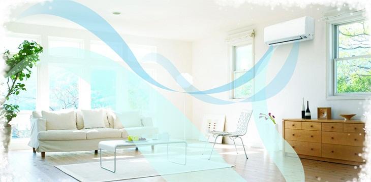 Không gian trong phòng luôn tràn ngập không khí mát mẻ