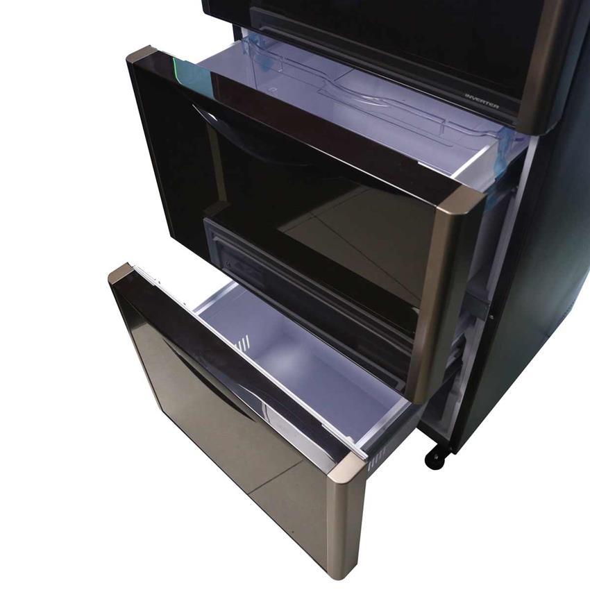 Thiết kế đặc biệt ở ngăn cửa kéo theo dạng trượt