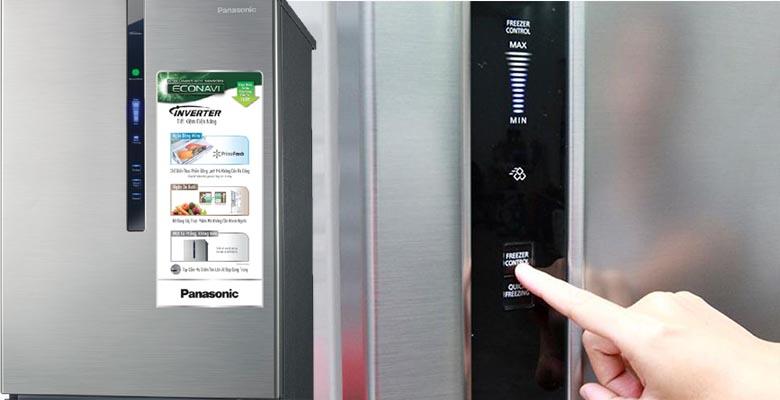 Dễ dàng điều chỉnh nhiệt độ bên trong tủ một cách dễ dàng nhất