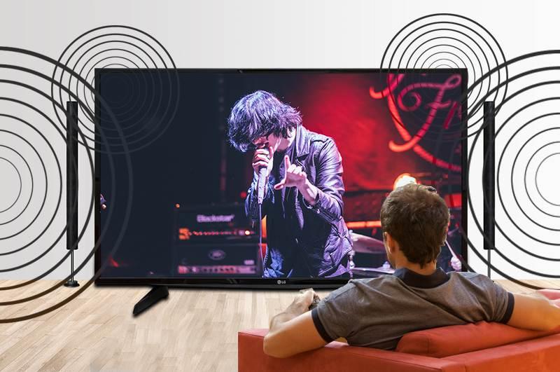 Tivi LG 49LH590T được trang bị công nghệ lọc âm Clear Voice III độc đáo