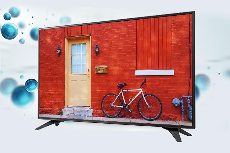 Tivi LG 49LH590T- Hiển thị hình ảnh mượt mà, tinh tế với tấm nền IPS
