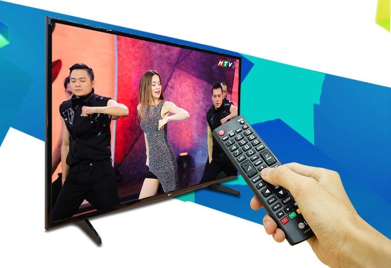 Tivi LG 49LH590T- Tích hợp đầu thu DVB-T2 miễn phí