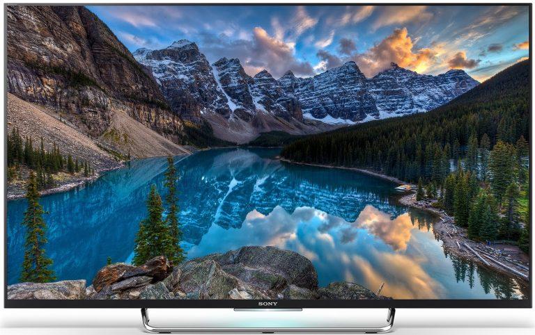 Thiết kế, kiểu dáng ấn tượng với tivi Sony 50W800C