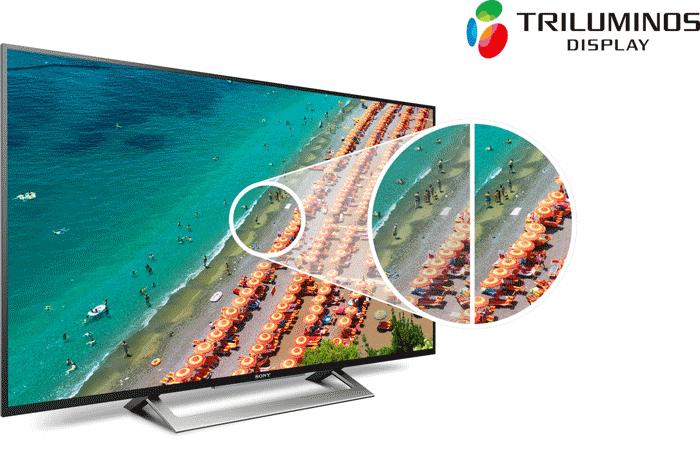 Smart tivi 43W8000 đạt hình ảnh đạt chuẩn HDR , độ tương phản ấn tượng
