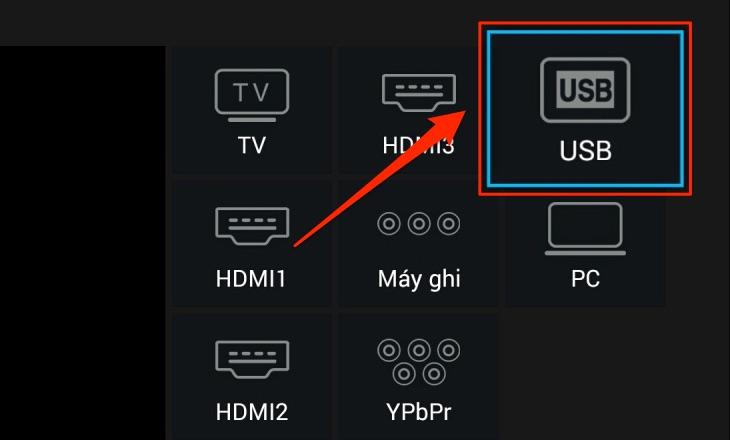 Chép dữ liệu lên smart TV TCL 2