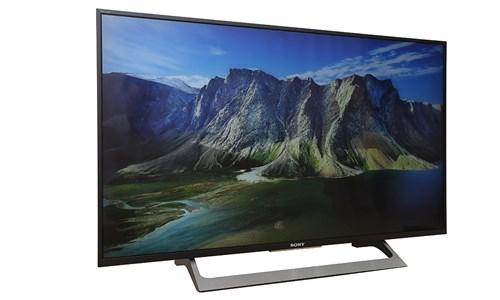 Tivi Sony KD-43X8000E có thiết kế sang trọng, thanh lịch