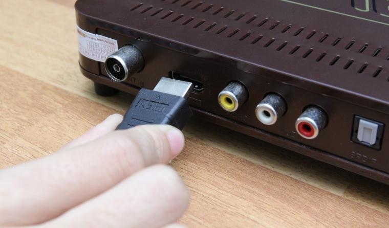 Kiểm tra kết nối giữa tivi với đầu thu